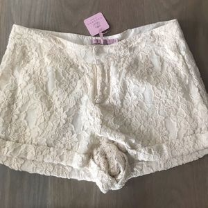 NWT Calypso lace short